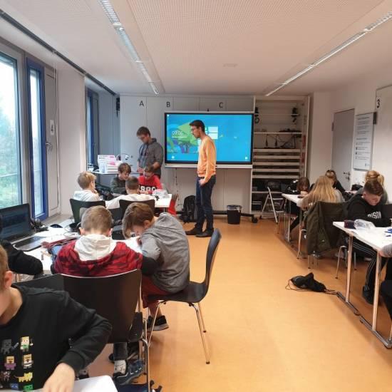 Mit WABIs Brüche dividieren und multiplizieren – Klasse 6d im Mathelabor der Uni Landau