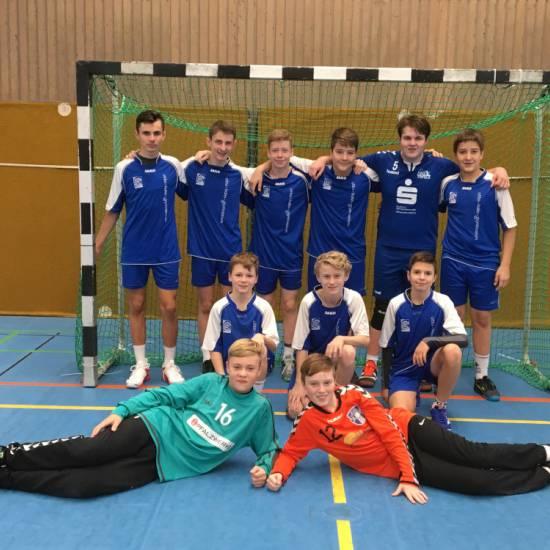 """Handballer (WK III) ziehen in Zwischenrunde bei """"Jugend trainiert für Olympia"""" ein"""