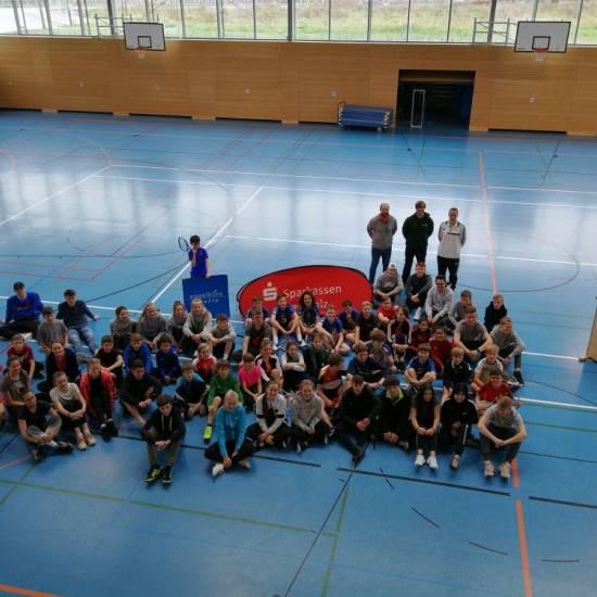 OHG-Tennisteam beim Kleinfeld-Tennisturnier in Maikammer
