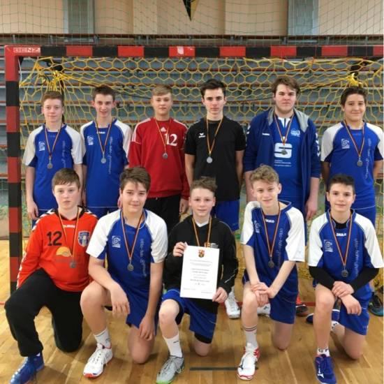 Handballer (WK III) erreichen 2. Platz im Regionalentscheid